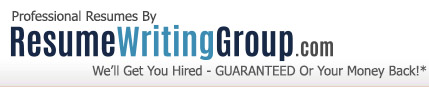 resume writing group - hire a professional resume writer